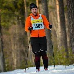 Skiing 90 km - Jens Landén (13095)