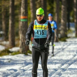Skiing 90 km - Mattias Hermansson (4156)