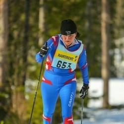 Skiing 90 km - Gunilla Frost (6536)