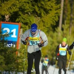 Skiing 90 km - Anders Olby (5836)