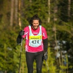 Skiing 90 km - Charlotta Dahlborn (7476)