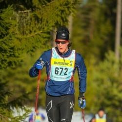 Skiing 90 km - Linus Ericson (6726)