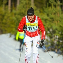 Skiing 90 km - Albin Grahn (11476)