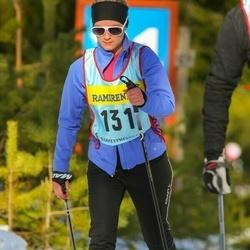Skiing 90 km - Alexandra Odell (1316)