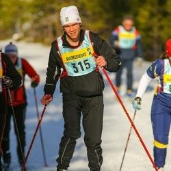 Skiing 90 km - Fredrik Gärdhagen (3156)