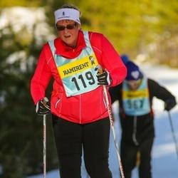 Skiing 90 km - Christina Wallerman (1196)