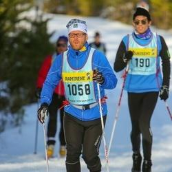 Skiing 90 km - Henrik Fållby (10586)