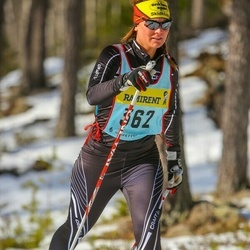 Skiing 90 km - Malin Schedvin (3626)