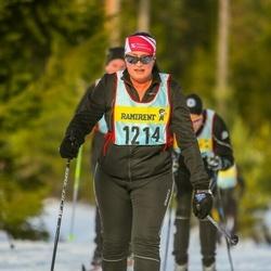 Skiing 90 km - Susanna Forsell Nordin (12146)