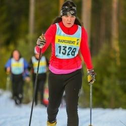 Skiing 90 km - Annette Lindholm (13286)