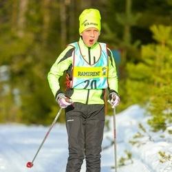Skiing 90 km - Fredrik Wikman (206)