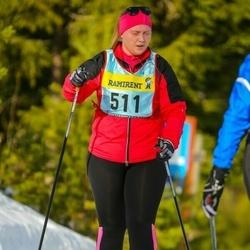 Skiing 90 km - Ebba Swahn (5116)