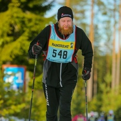 Skiing 90 km - Johan Karlsson (5486)