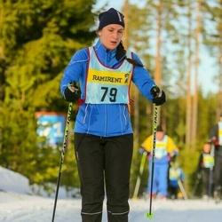 Skiing 90 km - Johanna Tibblin (796)