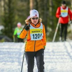 Skiing 90 km - Aina Strand (12046)