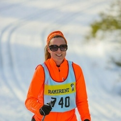 Skiing 90 km - Elisabeth Norder Grusell (7406)