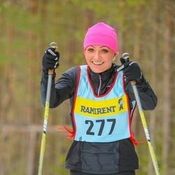 Skiing 90 km - Evita Vege (2776)