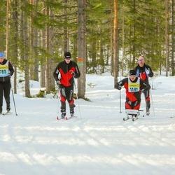 Skiing 90 km - Hanna Kulla (7826), Marcus Jarler (11916)