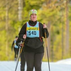 Skiing 90 km - Agneta Bouchaoui (5406)