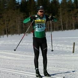 Skiing 90 km - Anders Wånell (2242)