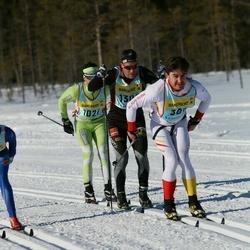 Skiing 90 km - Henry Churchill (3872), Hans Rapp (13082)