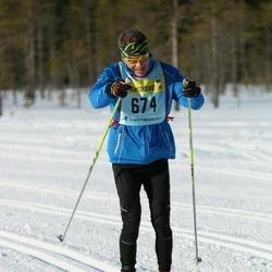 Skiing 90 km - Lars Andervang (6742)