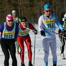 Skiing 90 km - Andreas Johansson (3532), Ulf Bergqvist (11132), Peter Broman (13702)