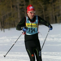 Skiing 90 km - Peter Fredriksson (7342)