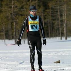 Skiing 90 km - Arvid Björkroth (8742)