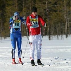 Skiing 90 km - Carl Bonnier (11432)