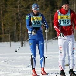 Skiing 90 km - Jørgen Reitan (9452), Carl Bonnier (11432)