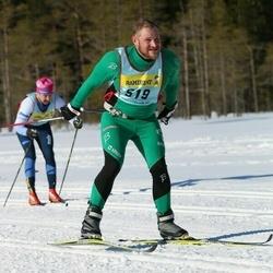 Skiing 90 km - Fredrik Hansson (5192)