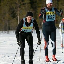 Skiing 90 km - Christian Räim (4312), Mats Gunnarsson (12222)