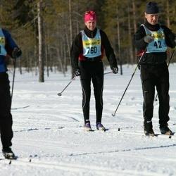 Skiing 90 km - Anders Berg (7602)