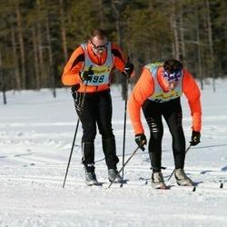 Skiing 90 km - Johan Melin (4992)