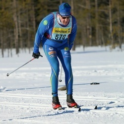 Skiing 90 km - Jan-Eric Thelin (5702)