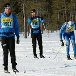 Skiing 90 km - Fredrik Gropman (8192)