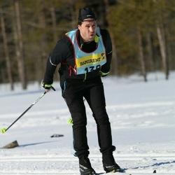 Skiing 90 km - Patrik Wallén (1362)