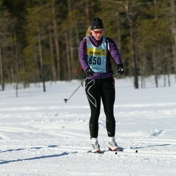 Skiing 90 km - Janna Andersson (6502)