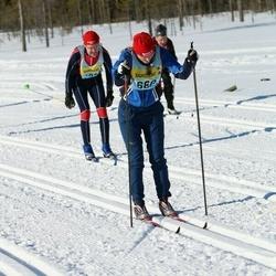 Skiing 90 km - Lina Lindahl (6682)