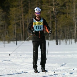 Skiing 90 km - Pius Schöpfer (1132)