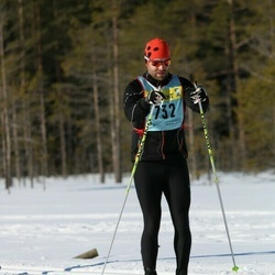 Skiing 90 km - Daniel Larsson (7322)
