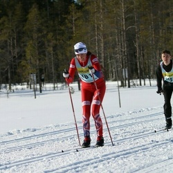 Skiing 90 km - Bente Sæther (4812)