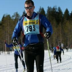 Skiing 90 km - Jens Husgård (7932)