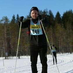 Skiing 90 km - Andreas Bradley (8482)