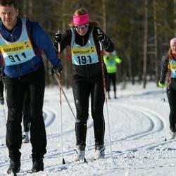 Skiing 90 km - Emmy Vidlund (1912)