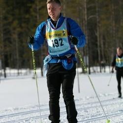 Skiing 90 km - Fredrik Forsberg (1922)