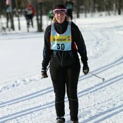 Skiing 90 km - Karin Svensson (302)