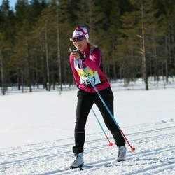 Skiing 90 km - Ulrika Sjölund (12572)