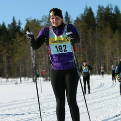 Skiing 90 km - Jennie Andersson (1822)